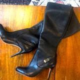 Coach Shoes | Coach Boots Authentic *Almost New* Black Kneehigh | Color: Black | Size: 6