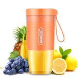 Liwen 1200 Mah Portable Blender Personal Smoothie & Shakes Blender w/ Waterproof Motor Base 10Oz/300Ml in Orange/Yellow   Wayfair