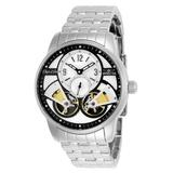 Pre-Owned Invicta Objet D Art Automatic Men's Black Silver Watch - 44mm - (AIC-25577)