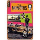Trinx Metal Sign Munsters Drag-U-La Comic Vintage Bar Wall Decorative Home Tin Signs 8 X 12 Inches Metal, Size 1.0 H x 11.8 W x 7.8 D in | Wayfair