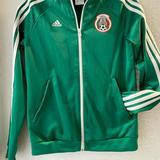 Adidas Shirts & Tops   Adidas-Mexico Warm-Up Jacket-Youth S 8-10   Color: Green   Size: 10b