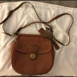 Coach Bags   Coach Saddle Bag   Color: Tan   Size: 10 Inches By 10 Inches