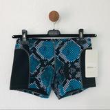 Lululemon Athletica Shorts   Lululemon Sweat 2 Swim Water Short 6 Nwt   Color: Black/Blue   Size: 6
