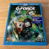 Disney Other   G-Force (Blu-Ray, Dvd, 2009, 3-Disc Set) Disney   Color: black   Size: Blu-Ray & Dvd