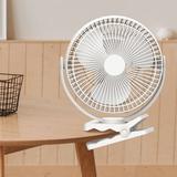 "OPOLAR Audria 10.59"" Personal Fan in White, Size 10.59 H x 9.05 W x 3.62 D in | Wayfair OPL-WH1104"