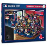 """""""Boston Red Sox Purebred Fans 18'' x 24'' A Real Nailbiter 500-Piece Puzzle"""""""
