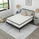 """Nap Queen Cashmere 12"""" Hybrid Pillow Top Mattress, Twin, Size 12.0 H x 39.0 W x 75.0 D in   Wayfair NQ611211"""