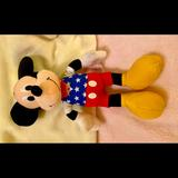 Disney Toys | Disney Mickey Mouse Plush Patriotic Mickey Doll | Color: Blue/Red | Size: 11 In