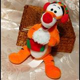Disney Toys   Disney Winnie The Pooh Tigger Plush Toy   Color: Black/Orange   Size: Osbb