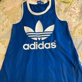 Adidas Tops   Adidas Vintage Workout Tank   Color: Blue   Size: S