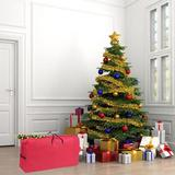 """The Holiday Aisle® Heavy Duty 600D Oxford Christmas Tree Storage Bag Fit Upto 9 Foot Artificial Tree Holiday Extra Large Dimensions 65"""" X 30"""" X 15"""""""