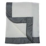 Indigo Safari Dexter Wool Baby Blanket in Black, Size 2.5 W in   Wayfair 83863386DE21400C93AA4F82D865057F