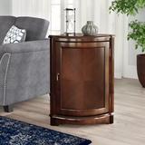 Lark Manor™ Korman 1 Door Corner Accent Cabinet Wood in Brown/Red, Size 31.0 H x 22.75 W x 16.0 D in   Wayfair 2FB38389D65A459DAE284FA557471124