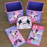 Disney Other   Disney'S Minnie Mouse Room Decor Bundle   Color: Pink/Purple   Size: Os