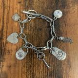 Michael Kors Jewelry | Michael Kors Charm Bracelet Mk Bracelet Silver | Color: Silver | Size: Os