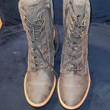 Nine West Shoes | New Nine West Winter Boots Size 9 | Color: Gray | Size: 9