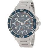 Pier 25 Multifunction Bracelet Watch - Metallic - Nautica Watches