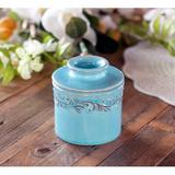 Red Barrel Studio® Original Butter Bell Jar By L. Tremain, French Ceramic Butter Tray, Antiques Collection in Blue | Wayfair