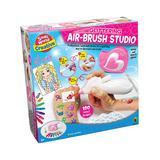 Small World Toys Girls' Craft Kits - Glittering Air-Brush Studio Craft Kit