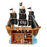 Constructive Playthings Dollhouses - High Seas Adventure Flat Dollhouse Set