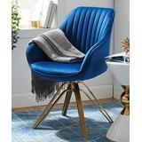Art Leon Accent Chairs MAZARINE - Mazarine Mid-Century Swivel Accent Armchair