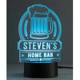 Personalized Planet Night Lights - Multicolored Beer Mug Personalized Night Light
