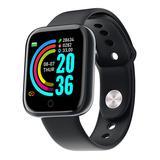 Shou Smart Watches Black - Black Bluetooth Sport Smart Watch