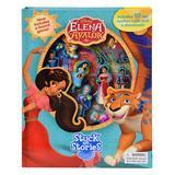 Disney Princess Developmental Toys - Elena Stuck On 12-Piece Stories Book