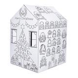 ColorJo Indoor Forts & Tents - Advent Calendar Cardboard Playhouse