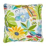 """16"""" Sq. Toss Pillow by BrylaneHome in Carolina"""