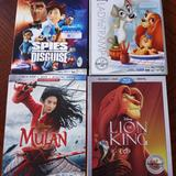 Disney Other | Disney Blu-Ray Dvd 4pac | Color: Red | Size: Blu-Ray
