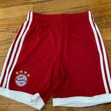 Adidas Bottoms | 2 Pairs Of Adidas Kids Soccer Shorts Size Medium | Color: Black/Red | Size: Mg
