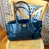 Coach Bags   Coach Black Laptop Bag   Color: Black   Size: Approx 17 Inches X 11 Inches