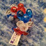 Disney Accessories | 2$10 Disney World Mickey Mouse Bracelet Nwot | Color: Blue/Red | Size: Osg