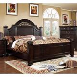 Astoria Grand Wesleyan Low Profile Standard Bed Wood in Brown/Green, Size 82.38 W x 93.25 D in   Wayfair ASTG5952 34522856