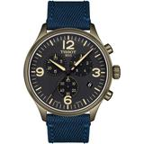 Chrono Xl Collection Textile Strap Watch - Black - Tissot Watches