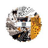 Riley Blake Designs Fabrics - Black & Orange Halloween Charm Pack