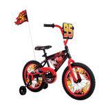 Disney Pixar Cars Boys' Bicycles Black - Disney Cars Red 16'' Bicycle