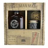 Man Made Wash & Clay Set - # Sweet Tobacco: 1x Sha