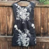 J. Crew Dresses | Gorgeous J Crew Mirabel Embroidered Dress | Color: Cream/Gray | Size: 6