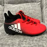 Adidas Shoes   Adidas Techfit Soccer Cleats, Size Youth 11.   Color: Black/Red   Size: Youth 11 Boys Or Girls