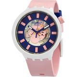 Diversipink Quartz Unisex Watch - Blue - Swatch Watches