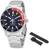 Star Automatic Diver's 200 Meters Blue Dial Watch -au0306l00b - Blue - Orient Watches
