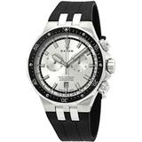 Delfin Chronograph Silver Dial Watch 3ca Ain - Metallic - Edox Watches