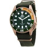 Triton Automatic Green Dial Watch -ac0k04e10b - Green - Orient Watches