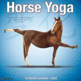 Willow Creek Press Horse Yoga 2022 Wall Calendar