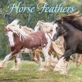 Willow Creek Press Horse Feathers 2022 Wall Calendar