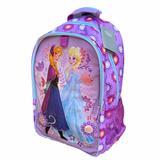 Disney Accessories | Disney Store Frozen Rolling Backpack | Color: Blue/Purple | Size: 21 H X 12 L X 7 D