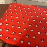 Disney Bedding | Mickey Disney Twin Flat Sheet | Color: Black/Red | Size: Twin