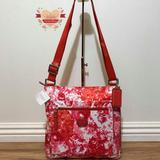 Coach Bags   Coach Fabic-Nylon Crossbody Bag   Color: Pink/Red   Size: 10 Inch L X 10.5 Inch H